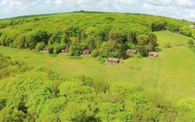 Lovely Cornish Countryside; Cutkive Wood Holiday Lodges